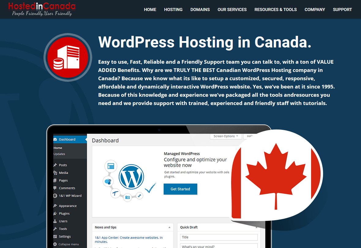 5 Ways Web Hosting in Canada can boost Site Performance for Canadian's